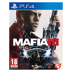 Mafia III PlayStation 4 Cover Art