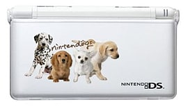 Hori Officially Licensed DS Lite Protector - Nintendogs 4 Dogs NDS