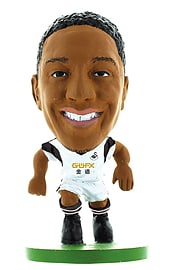 SoccerStarz Swansea City AFC Jonathan de Guzman Home Kit Figurines and Sets