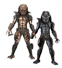 Predators 2 - 1/4 Scale Action Figure (Single Random Figure) Figurines and Sets