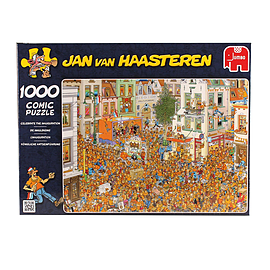 Jan van Haasteren The Kings Inauguration Puzzle 1000 pcs Traditional Games