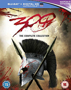 300 and 300: Rise of an Empire Blu-ray