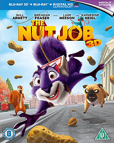 The Nut Job: Blu ray 3D and Blu ray Blu-ray