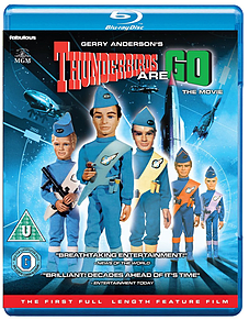 Thunderbirds Are GO: The Movie Blu-ray