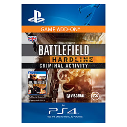 Battlefield Hardline Criminal Activity PlayStation 4