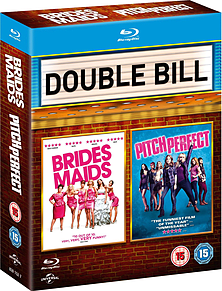 Bridesmaids and Pitch Perfect Blu-ray