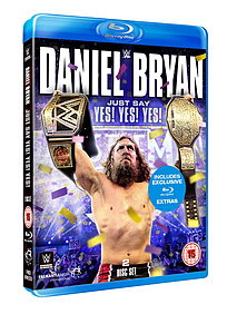 WWE: Daniel Bryan Just Say Yes Yes Yes Blu-ray