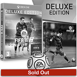 FIFA 16 Deluxe Edition With Only At GAME Preorder Pack Xbox One