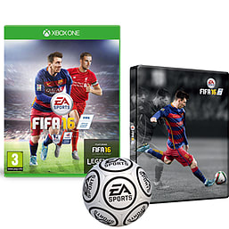 FIFA 16 With Only At GAME Preorder Pack Xbox One