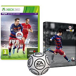 FIFA 16 With Only At GAME Preorder Pack Xbox 360