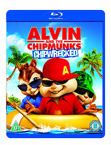 Alvin and the Chipmunks: Chipwrecked Blu-ray