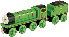 Wooden Thomas and Friends: Henry the Green Engine Figurines and Sets