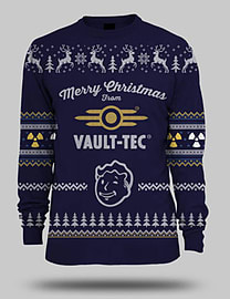 Fallout Blue Xmas Jumper (Medium) Medium Cover Art
