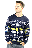 Fallout Blue Xmas Jumper (Medium) screen shot 7