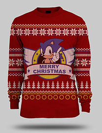 Sonic the Hedgehog Christmas Jumper - Medium Medium