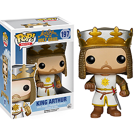 Monty Python and the Holy Grail - King Arthur Pop Vinyl Scaled Models