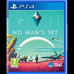 No Man's Sky PS4 Cover Art