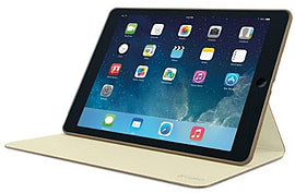 Logitech Hinge Case for iPad Air 1 - Light Brown Tablet