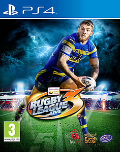 Rugby League Live 3 PlayStation 4 Cover Art