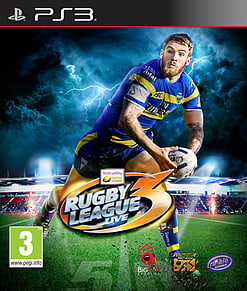 Rugby League Live 3 PlayStation 3 Cover Art