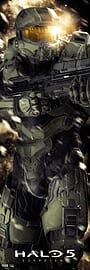 Halo 5 Masterchief Door Poster Posters