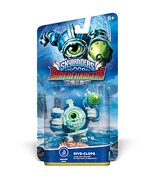 Dive Clops - Skylanders SuperChargers Character Toys and Gadgets