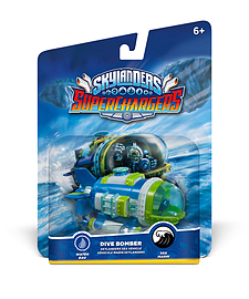 Dive Bomber - Skylanders SuperChargers Vehicle Toys and Gadgets