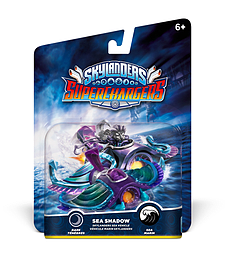 Sea Shadow - Skylanders SuperChargers Vehicle Toys and Gadgets
