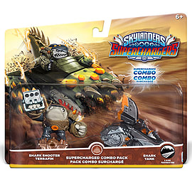 Skylanders SuperChargers Combo Pack – Shark Shooter Terrafin with Shark Tank Skylanders