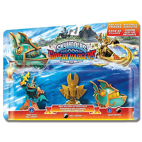 Skylanders SuperChargers Racing Pack - Sea Toys and Gadgets