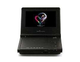 Energy Sistem M2400 Portable DVD Player 7-Inch 16:9 - Black TV and Home Cinema