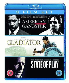American Gangster Gladiator State Of Play Blu-ray