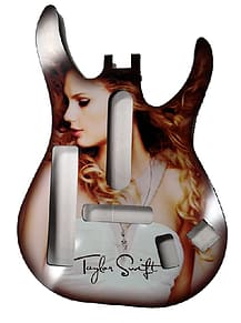 Band Hero - Taylor Swift Guitar Faceplate (PS3,360) PS3