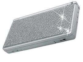 Speedlink Crystal Sticker DSL - Silver NDS