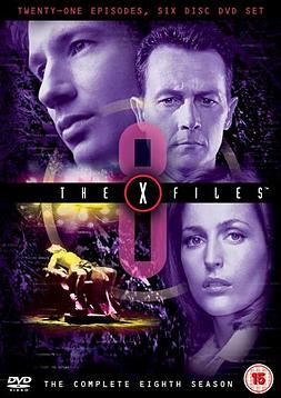 X Files: Season 8 (Box Set) DVD