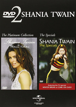 Shania Twain: The Platinum Collection/The Specials DVD