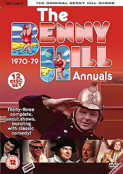 Benny Hill: The Benny Hill Annuals 1970-1979 DVD