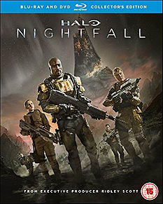 Halo: Nightfall Collectors Edition Blu-ray