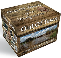 Out Of Town Box Set - Volumes 1 - 10 With Jack Hargreaves DVD