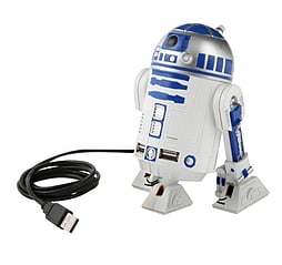 Star Wars R2-d2 Passive Usb Hub With Sfx Star12 PC