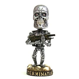 Terminator T2 Endoskeleton Headknocker Figurines and Sets