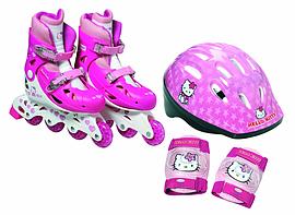 Hello Kitty Inline Roller Skates Set. Pre School Toys