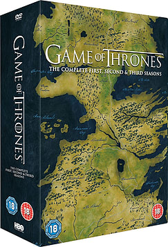 Game of Thrones: Season 1 to 3 DVD