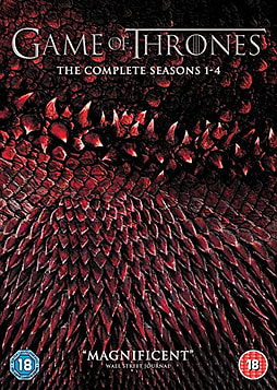 Game of Thrones - Season 1 to 4 DVD
