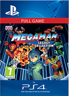 Mega Man Legacy Collection PlayStation 4