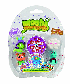 Moshi Monsters Collectables Series 7 Figurines and Sets