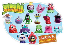 Moshi Monsters Moshling Collectables Series 6 Figurines and Sets