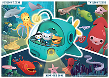 Octonauts Octonauts Giant Floor Puzzle (60 Pieces) screen shot 1