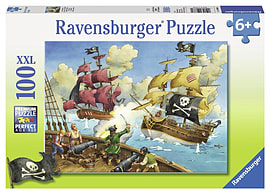 Pirate Ship Puzzle (XXL, 100 Piece) Traditional Games