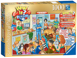 What If At The Vets Jigsaw Puzzle (1000 Pieces) Traditional Games